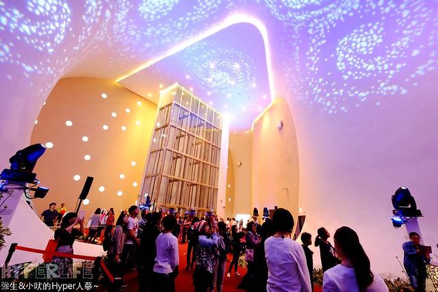 台中歌劇院聖誕燈光秀 (27)