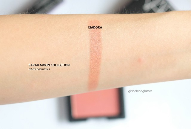 NARS Sarah Moon Blush Isadora swatch