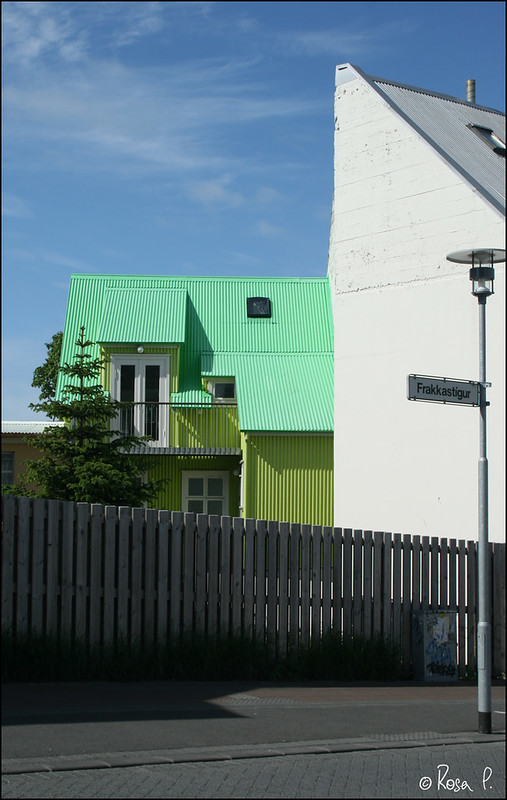 iceland - Maison verte