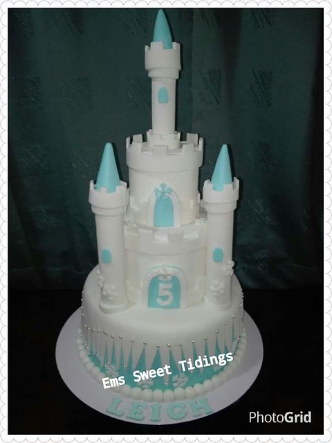 Frozen Castle Cake by Emily Gonzales Villamor of Ems Sweet Tidings
