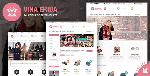 Vina Erida v1.3 – Multipurpose Joomla 3.x Template