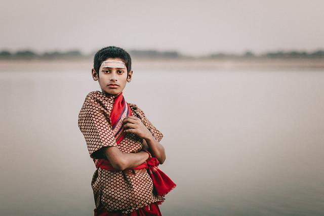 Young Brahmin. Varanasi, India