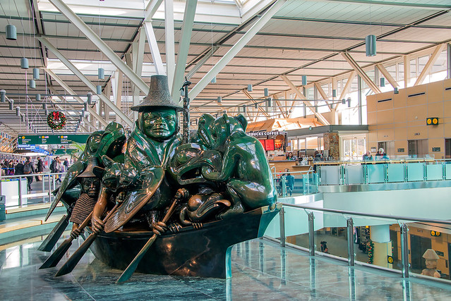 Vancouver International Airport (YVR) Sculpture, Vancouver, BC