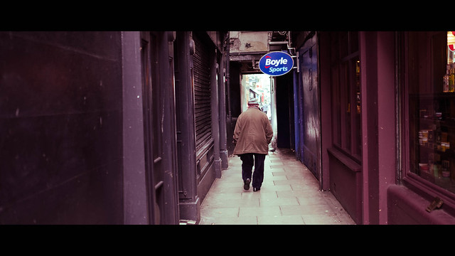 Dame Lane - Dublin, Ireland - Color street photography