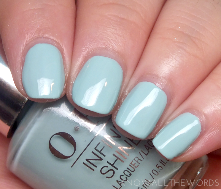OPI Infinite Shine Soft Shades 2015 Eternally Turquoise