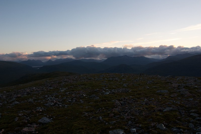Twilight over the Western Highlands