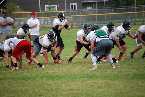 Football practice 14