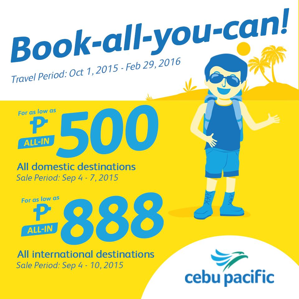 Cebu Pacific Promo September 4
