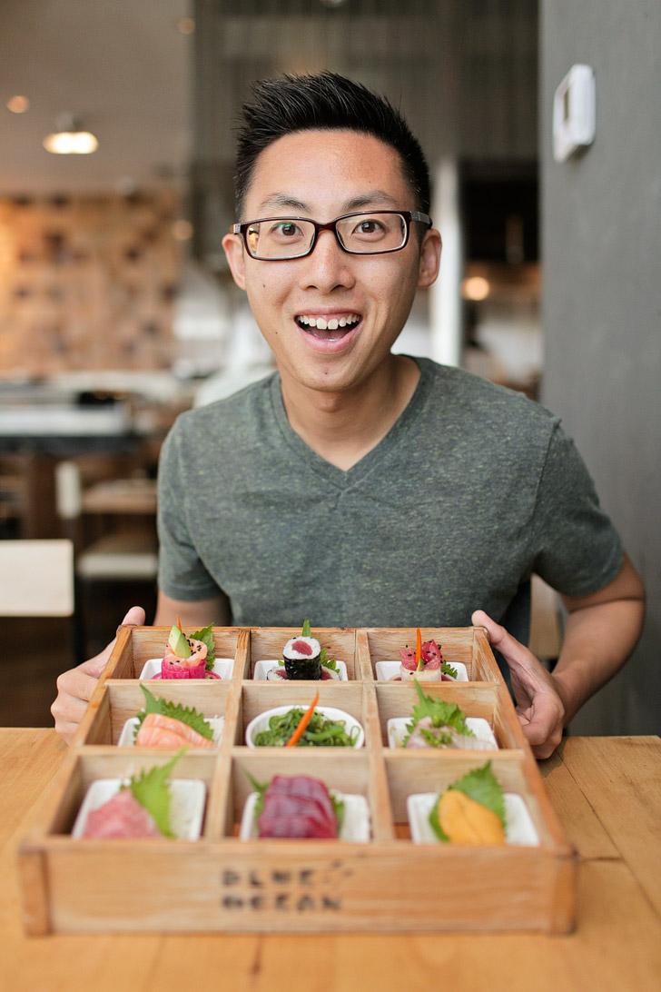 Omakase Box Blue Ocean Robata & Sushi Bar / Carlsbad Restaurants.