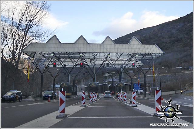 Frontera entre España y Andorra.