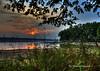 Eau Pleine Sunset