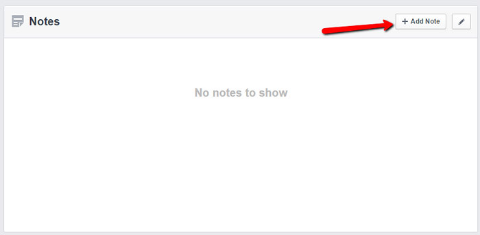 how to use facebook notes