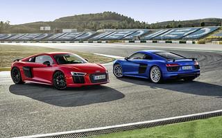 2016 Audi R8 V10 & R8 V10 plus