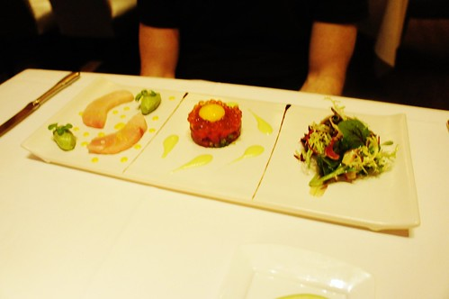 Sashimi and Tartare of Bluefin Tuna and Yellowtail