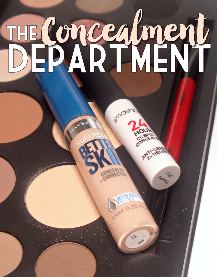 smashbox and maybelline concealment department (2)