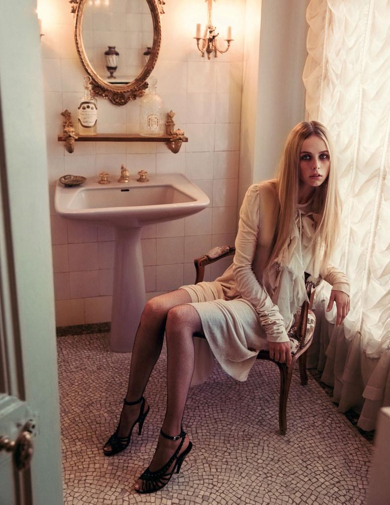 Эди Кэмпбелл — Фотосессия для «Vogue» FR 2015 – 3