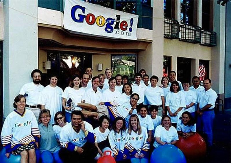 The First Google Team