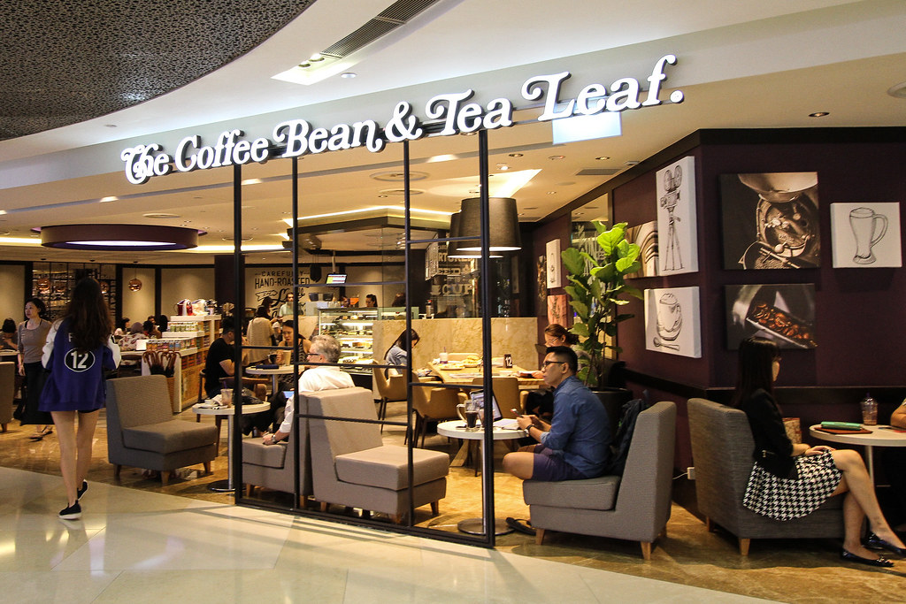 All day breakfast and dining menu at the coffee bean tea