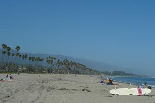 Santa Barbara - Santa Barbara beach