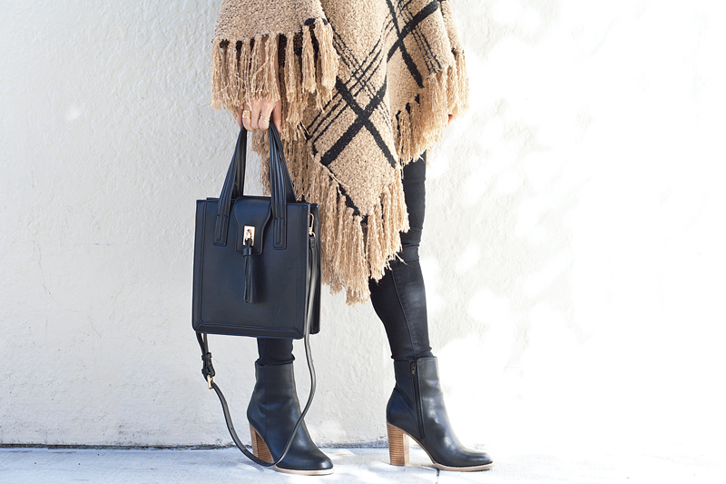 09-plaid-knit-fringe-tassel-satchel-booties-sf-fashion-style