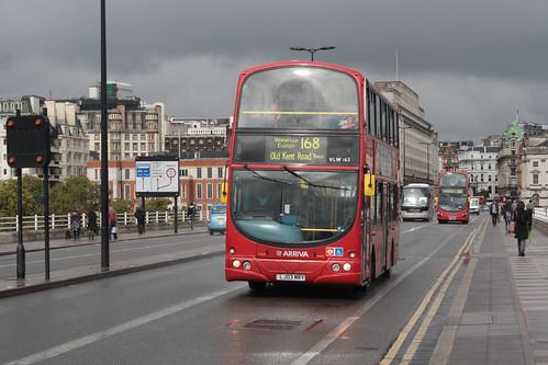 Arriva London North VLW163 LJ03MRY