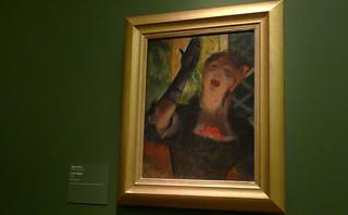 Chicago - Art Institute of Chicago Degas Cafe Singer