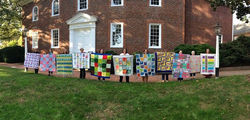 October charity quilts