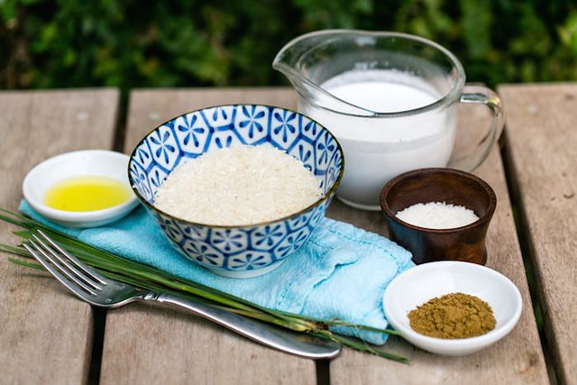 Healthy Rice Milk Recipe Blue Osa Yoga Costa Rica Rice and Cinnamon and Spice