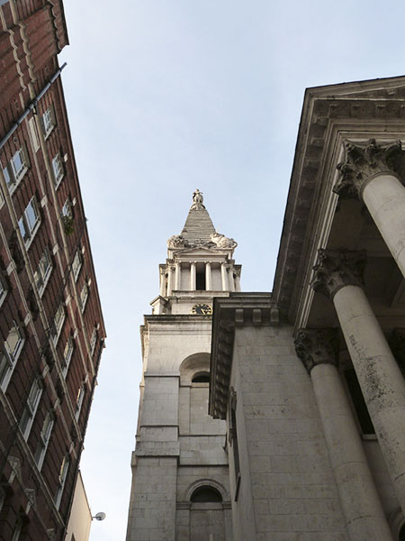 saint George's Bloomsbury Church