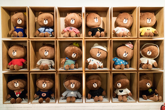 2015 LINE FRIENDS STORE in itaewon