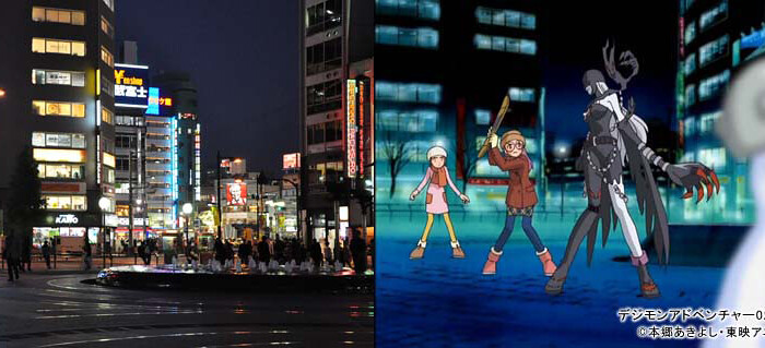 Conheça alguns lugares de Digimon Adventure na vida real!