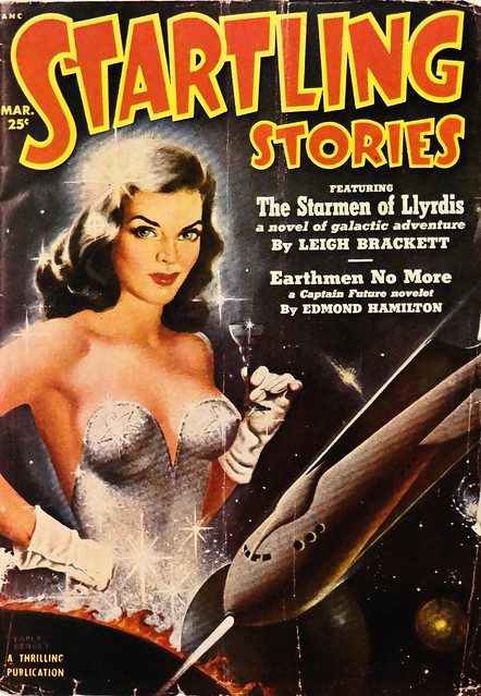 Startling Stories (March, 1951). Cover Art by Earle Bergey