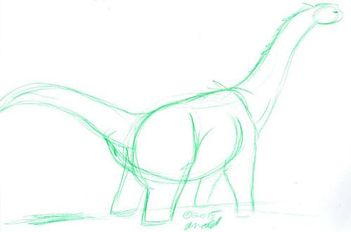 Draw Dinovember 11.6.15 - Oh Poo.