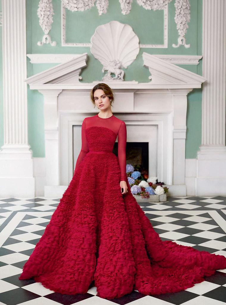 Лили Джеймс — Фотосессия для «Harper's Bazaar» UK 2015 – 4