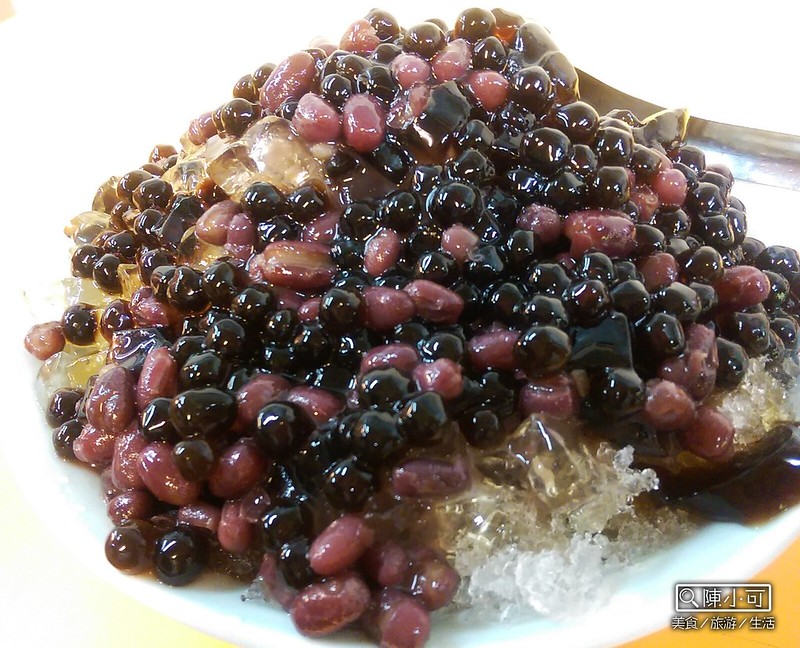 【三重美食甜點】粉圓王。三重自強路甜點推薦,還有燒仙草、刨冰、豆花