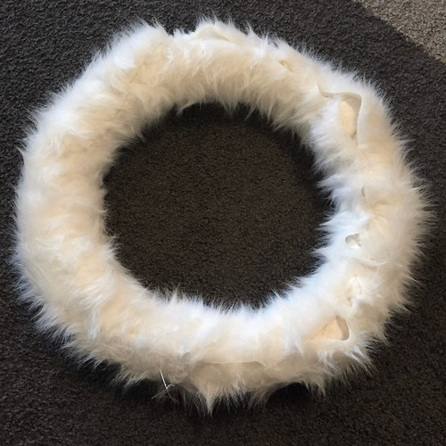 Faux Fur Wreath