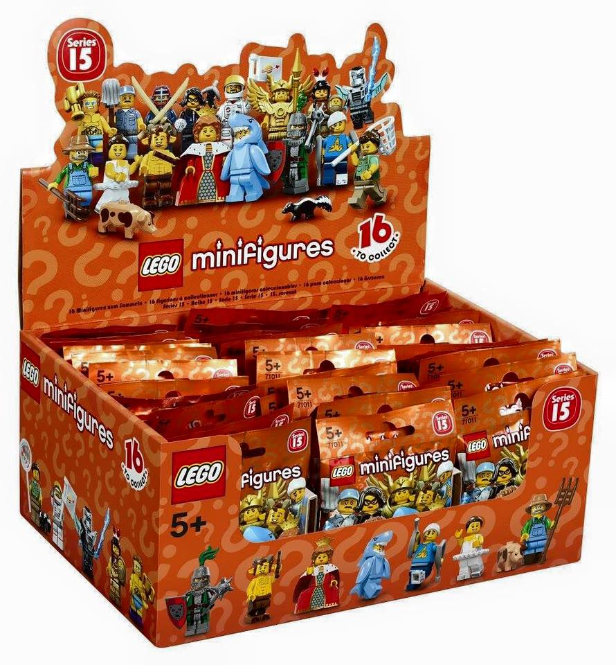 LEGO COLLECTIBLE MINIFIGURE SERIES 15 FLYING WARRIOR 71011