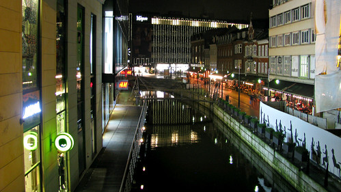 Arhus at night