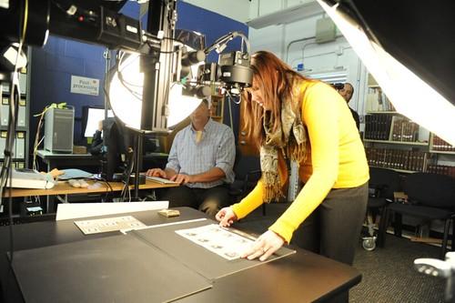 Smithsonian scanning BEP sheets