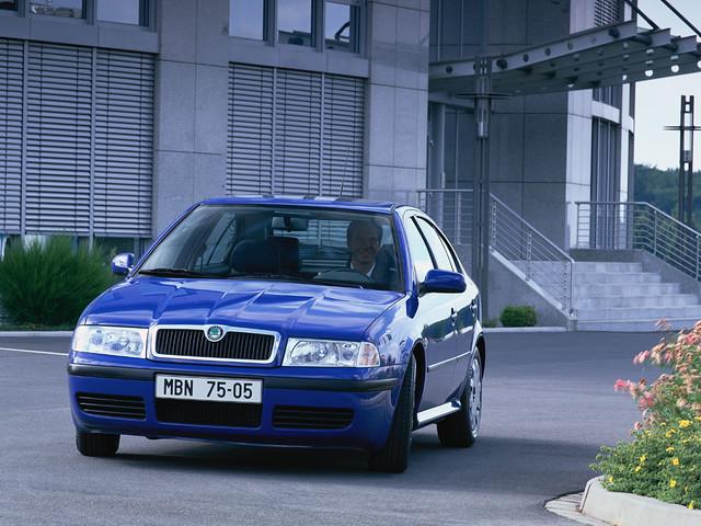 Skoda Octavia первого поколения. 1996 год