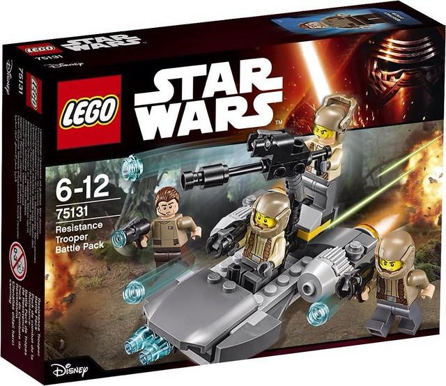LEGO Star Wars 2016 sets | 75131 - Resistance Trooper Battle Pack