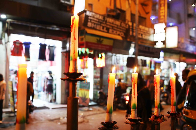 City Faith - Hanukkah Candles, Paharganj