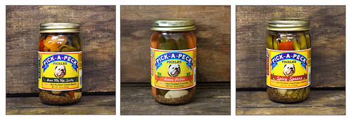 Pick-A-Peck Pickled Vegetables