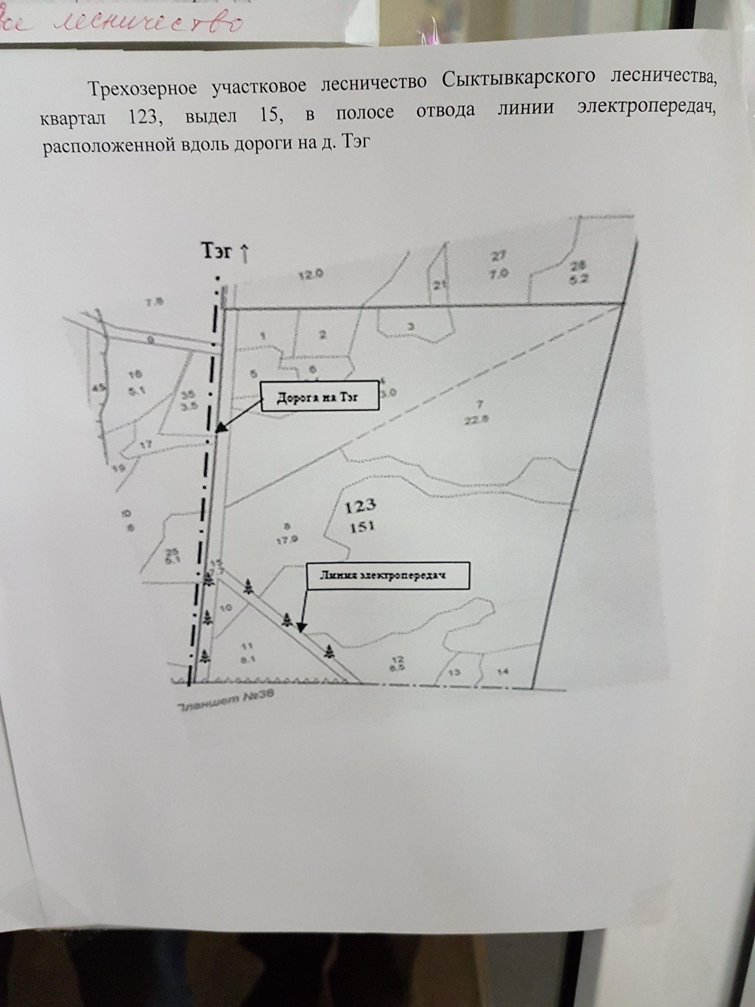 Карта ели Седкыркещ