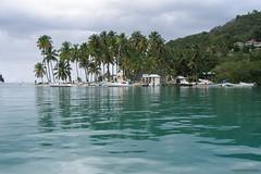 Marigot Bay, St. Lucia (St. Lucia) - u.a. Drehort für 'Doctor Dolittle' (1967)