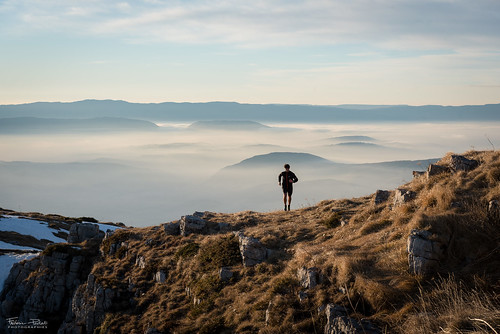 Running above the world | by Frédéric Pactat
