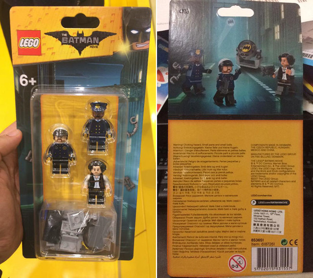 The LEGO Batman Movie 853651 Accessory Pack 1