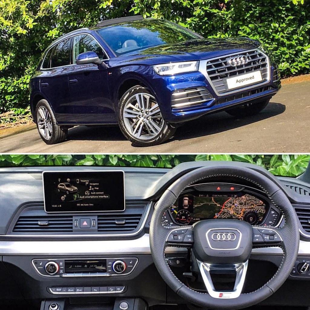 The New Audi Q5 💙 #audi #q5 #new #shape #sline #quattro