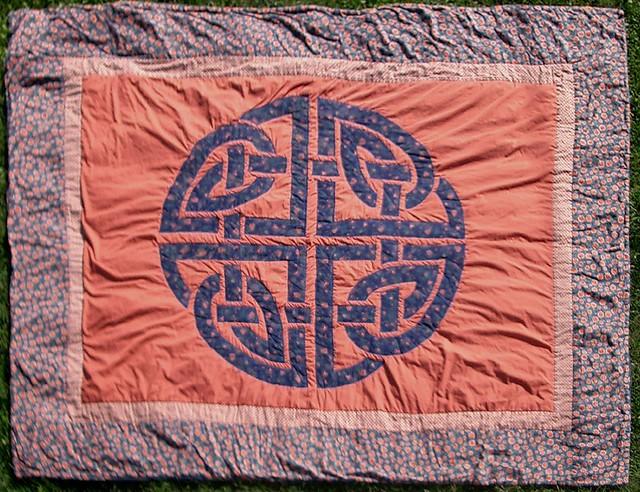 celtic knot quilt flickr photo sharing