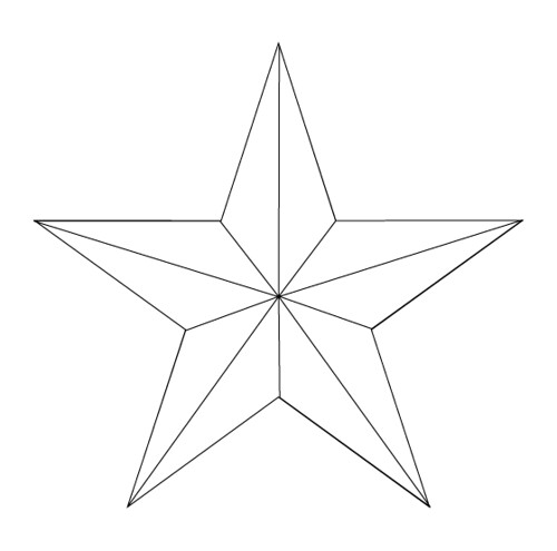 Nautical Star Tattoo 1 Outline Flickr Photo Sharing